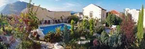 Panaroma Garden & pool view Wide